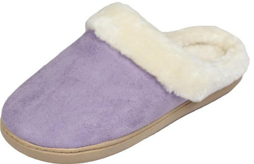 Women's Cozy Fleece House Slippers