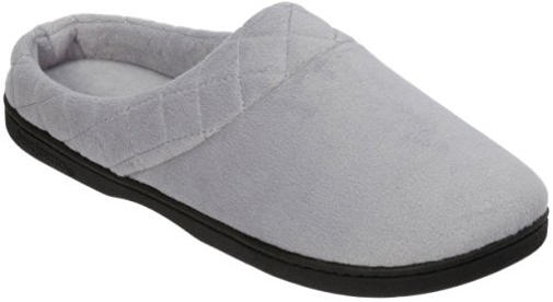 Women's Microfiber Velour Clog Slippers
