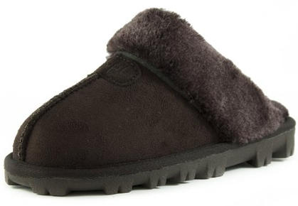 Clpp'li Women's Slip On Faux Fur Warm Winter Mules