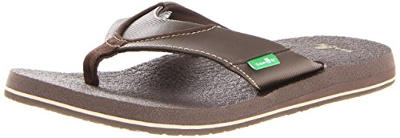 Sanuk Men's Beer Cozy Flip Flops