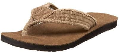 Sanuk Men's Fraid Not Flip Flops