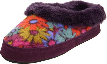 Acorn Hopscotch Mule Slipper