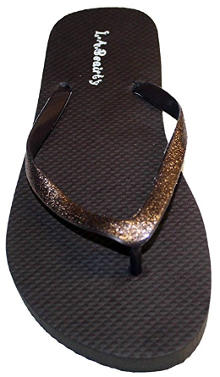 Dona Michi Women´s Flip Flops with Glitter Straps