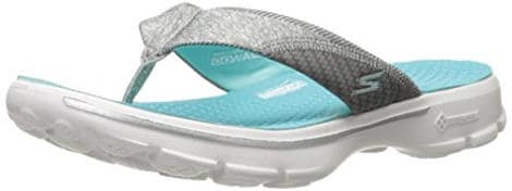 Skechers Performance Womens Go Walk Pizazz flip flops