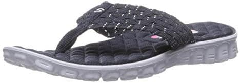 Skechers Sport Women's Ez Flex Cool Hang Loose Flip-Flop