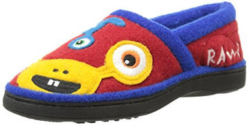 Acorn Kids Applique Moc Slipper