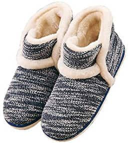 MiYang's Vintage Arctic Solid Indoor Boot Slippers