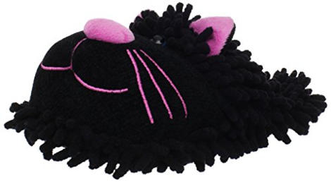 Fuzzy Friends Women's Cat Slipper
