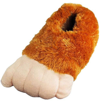 Wishpets - Adults Big Foot Claw Slippers