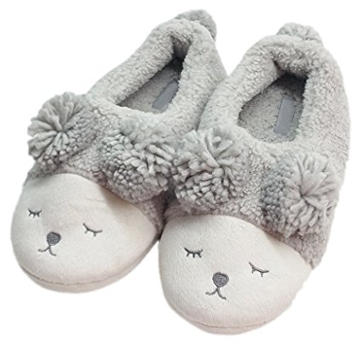 MiYang Women's Warm Plush Soft Sole Indoor Slipper