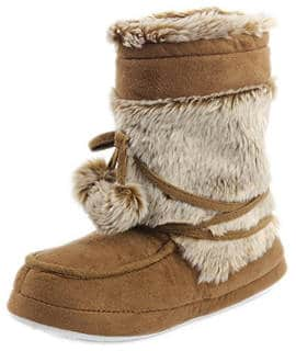 Gohom Women's Winter Indoor Slipper Boots