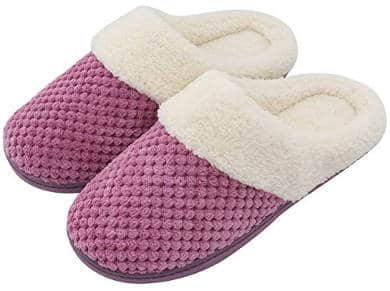 UltraIdeas Women's Slip-on Memory Foam Clog Slippers