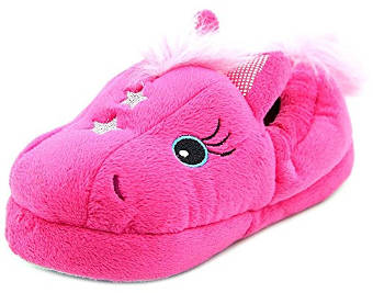 Stride Rite Little Girls Fuchsia Magic Pony Slippers