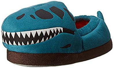 Stride Rite Glow In The Dark T-Rex Skull Slip On