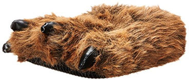 Wishpets Bear Paw Slippers