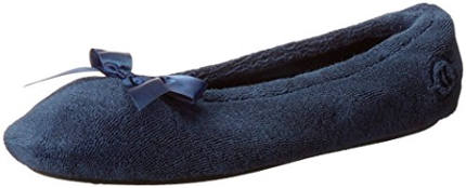 Isotoner women´s terry ballerina slipper