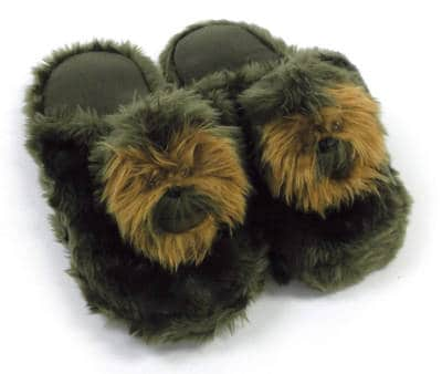 Comic Images Star Wars Chewbacca Plush Slippers for Adults and Kids