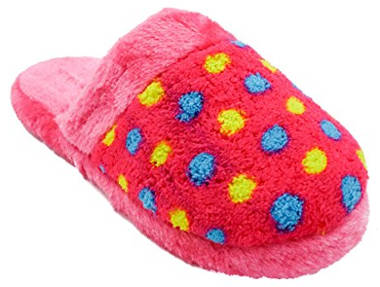 Zollies Girls Printed Plush Slippers