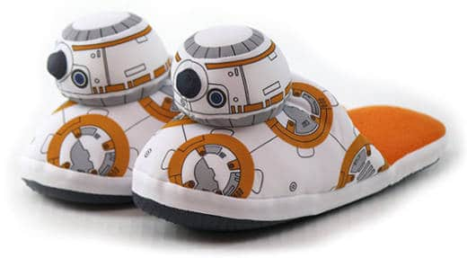 Comic Images BB-8 Star Wars Slippers for Kids and Adults