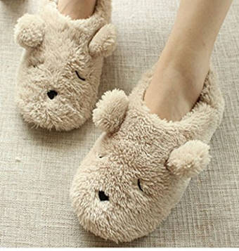 Indoor Warm Fleece Slippers for girls