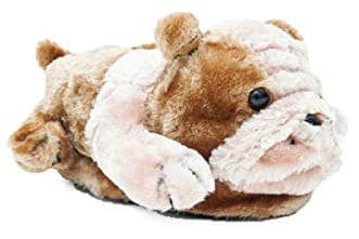 Happy Feet Women's and Men's Bulldog Slipper