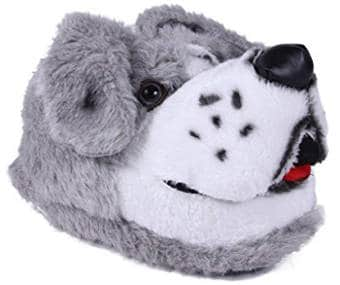 Happy Feet Women's and Men's Sheepdog Slipper