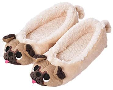 MiYang Women's Plush Animal Home Slippers