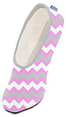 Women's Fleece Multi Chevron Snoozies