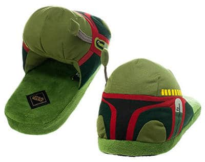 Star Wars Boba Fett Adult Slippers