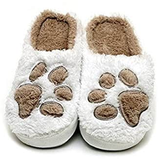 Paw Print Slippers by PupLife