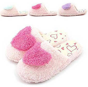 Antiskid Slippers with Cute Sweet Heart Design
