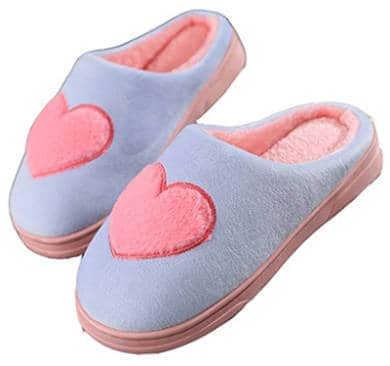 Heart Slippers for women