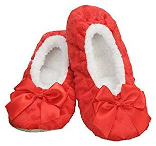Ballerina slippers with hearts