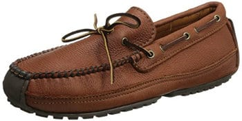 Minnetonka Men's Moosehide Weekend Moccasin