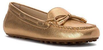 Michael Kors Women's Daisy Round Toe Canvas Loafer