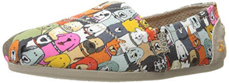 Skechers Bobs Plush Wag Party Women´s Slip On Flats