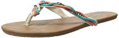 Volcom Women's Beach Party Sandal Flip Flop