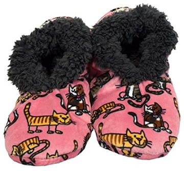 Lazy One Women´s Fuzzy Feet Slippers
