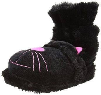Aroma Home Black Cat Fun Women´s Slipper Socks