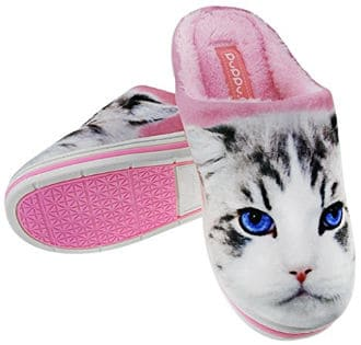 Cat Slip-On Home Slippers