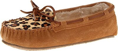 Minnetonka Women's Leopard Slipper
