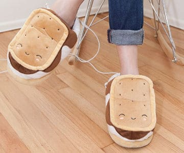 SMOKO USB Foot Warmer Slippers