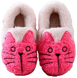 MiYang Women/Toddlers Cat House Slippers/Booties