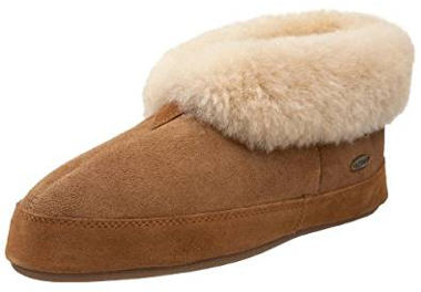 Acorn Men's Sheepskin Bootie Slippers