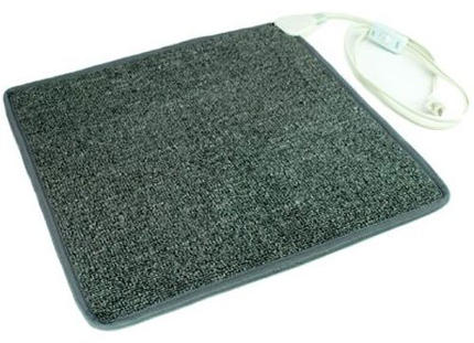 Carpeted Foot Warming Heater by Cozy Products