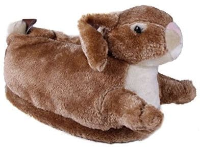 Brown Bunny Slippers by ¨Happy Feet¨
