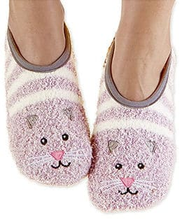 Snoozies Women´s Animal Mary Jane Slipper Socks