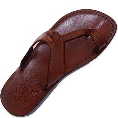 Genuine Leather Biblical Sandals for Adults and Children