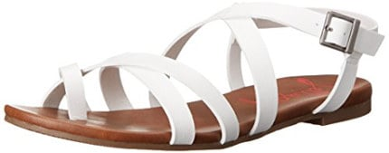 Jellypop Women's SHIRLEY Toe Ring Sandal