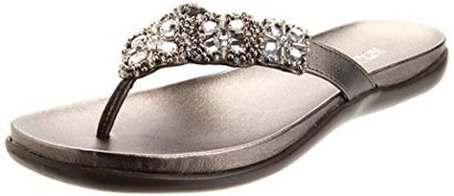 Kenneth Cole Reaction Women's Omen's Glam-a thon Flat Sandal. These Kenneth  Cole Reaction Flat Jeweled Sandals ...